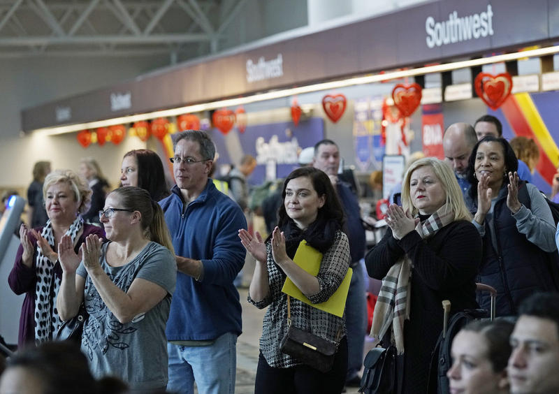 Officials told onlookers Thursday that Southwest will offer five additional flights a day to Atlanta.