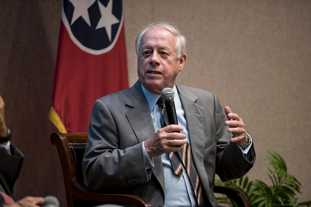 Democrat Phil Bredesen said he is not comfortable with the current leadership in the U.S. Senate, so he will not be supporting New York Sen. Chuck Schumer for majority leader if Democrats were to take over.