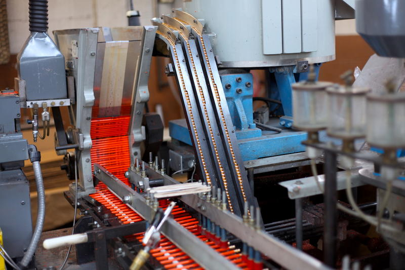 Musgrave Pencil Company thrives on filling smaller, custom orders that larger Chinese manufacturers don't want to handle.
