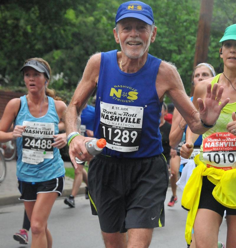 Nashville Striders President Peter Pressman was a frequent marathoner who worked to promote the sport in Middle Tennessee.
