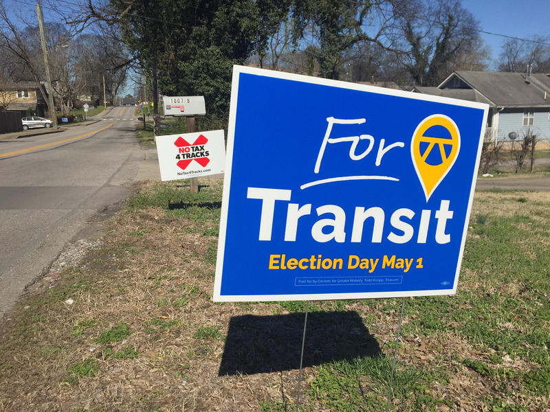 Supporters and opponents have been sparring over a plan to build mass transit in Nashville.
