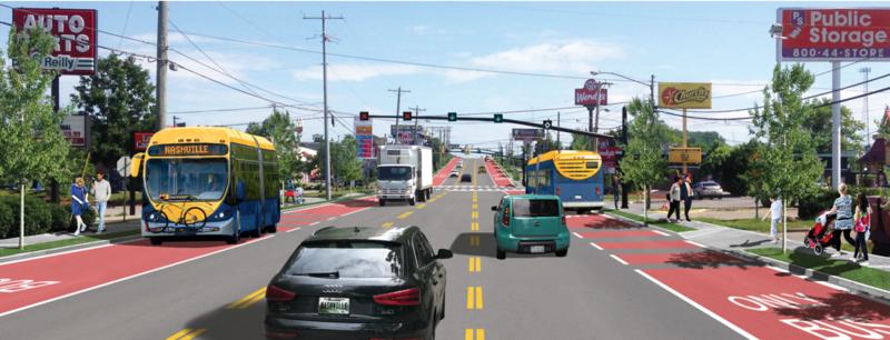 bus rendering
