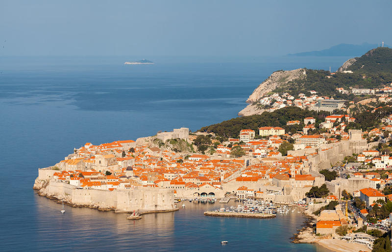 """The fortified city of Dubrovnik, where Game of Thrones scenes from """"Kings Landing"""" are filmed."""