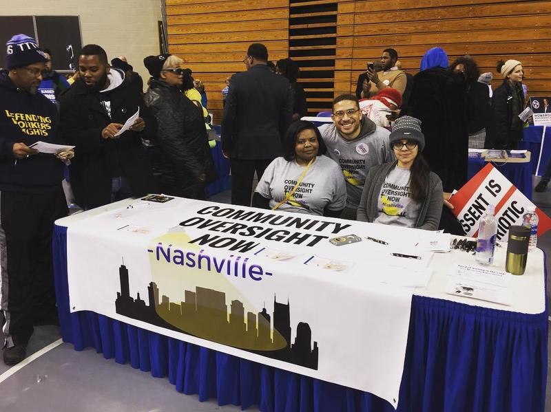 """Community Oversight Now"", a group of citizens who have advocated for a community oversight board in Nashville, will need to gather signatures from 4,300 registered voters by the first week of August to get a referendum on the November ballot."