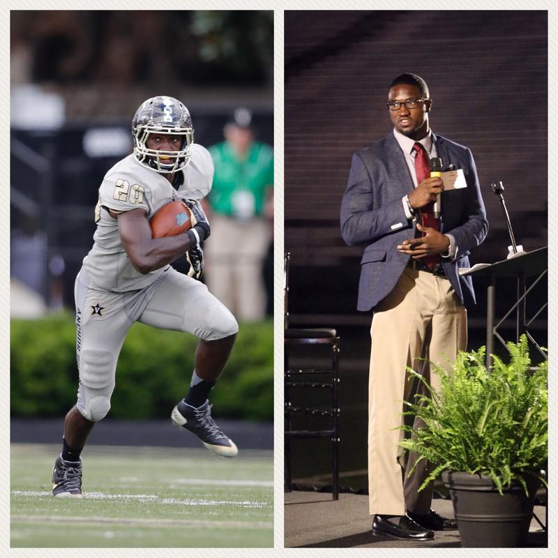 Vanderbilt football player Oren Burks on and off the field
