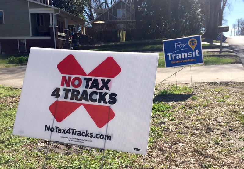 Nashville is debating a transit referendum with the vote May 1.