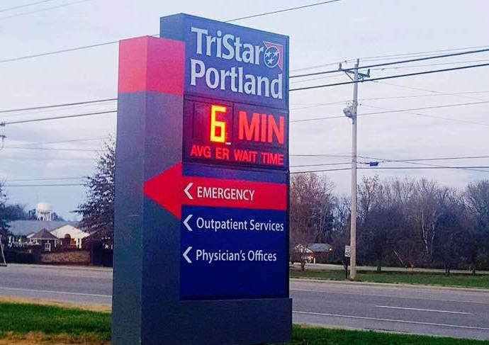 HCA's TriStar system has been building freestanding emergency rooms around the region, including Portland, Tenn.