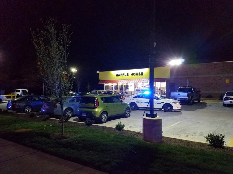 Police say the shooter arrived just before 3:30 a.m. and began shooting customers on his way into the Waffle House on Murfreesboro Pike in Antioch.