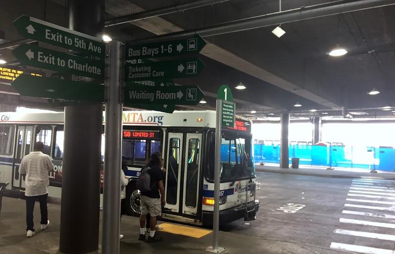 MTA bus Music City Central