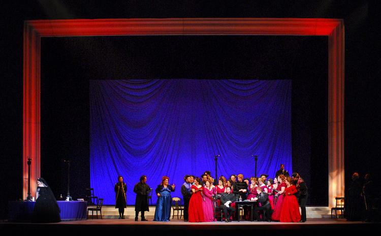 The Nashville Opera last performed La Traviata in the 2011-12 season.