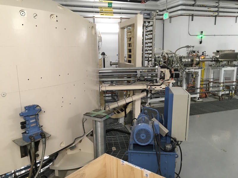 Proton therapy is pricier than more conventional therapy because it requires an expensive cyclotron. This one pictured here is from Provision Proton Therapy's new facility in Franklin, which is scheduled to open later this year.