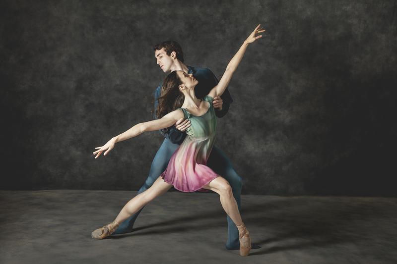 Nashville Ballet dancers Judson Veach and Keenan McLaren Hartman