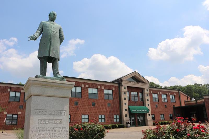 Jere Baxter Nashville sculpture public art Belle Kinney