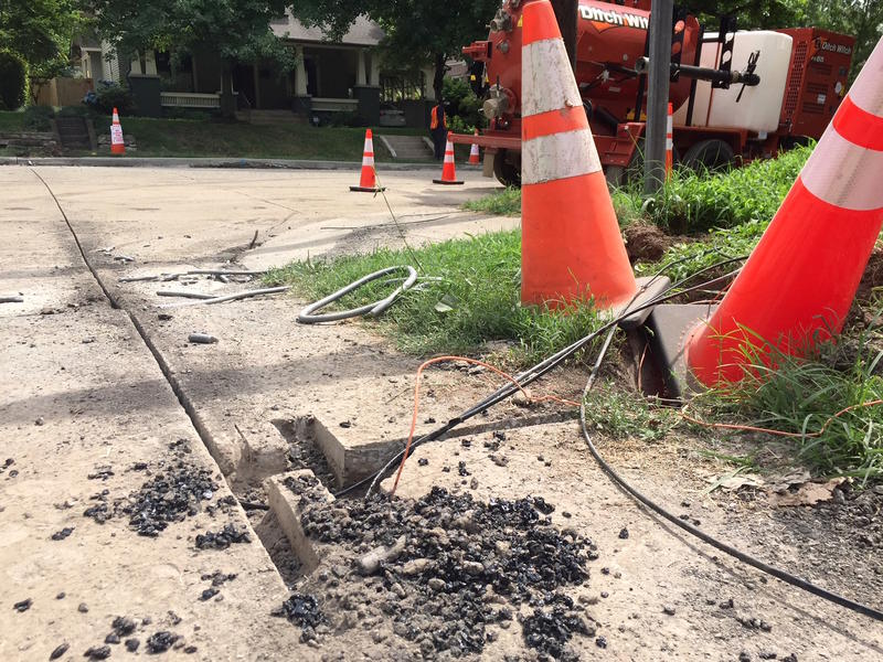 microtrenching Nashville