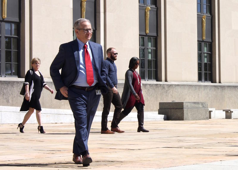 Mayor David Briley has removed two senior advisors, including one aide who's been with the city for more than a decade.
