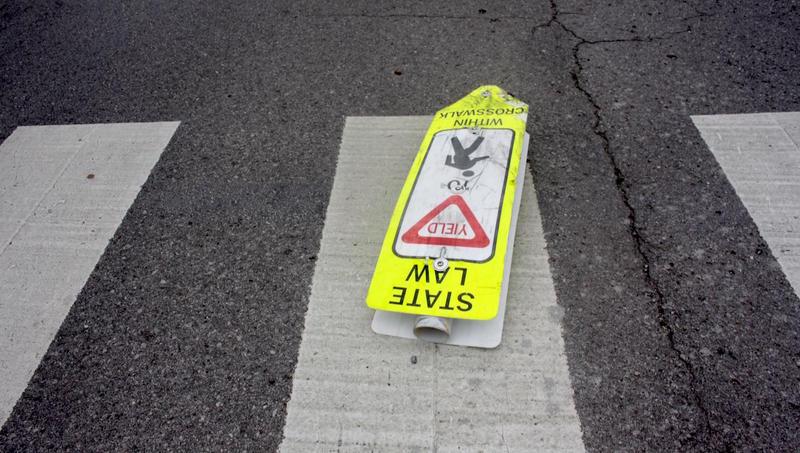 pedestrian crosswalk Nashville