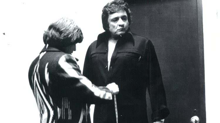 Manuel Cuevas with Johnny Cash
