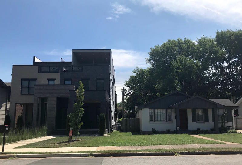 Rapid development has transformed this historically African-American neighborhood, and neighbors are divided over how to curb it.