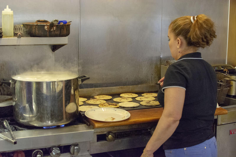 Arévalo has owned and operated her restaurant for more than seven years.