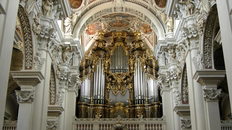 With 17,774 pipes, the organ at St. Stephen's Cathedral in Passau, Germany is the largest cathedral organ in Europe.