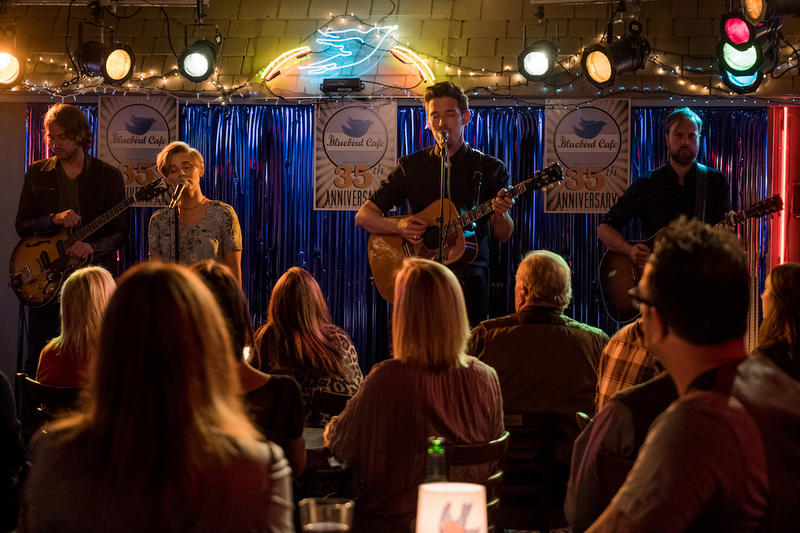 The Bluebird Cafe was one of the few Nashville venues on the show that was not shot on location. Instead, since it plays such a prominent part in the show, a replica was created to shoot on set.