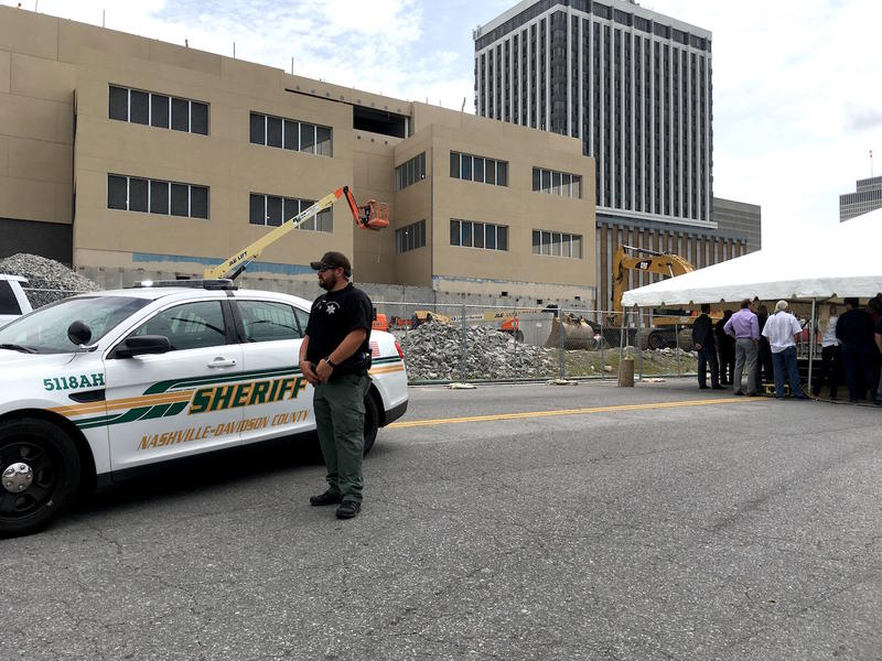 The Davidson County Sheriff's Office is building a 60-bed Behavioral Care Center slated to open in 2020 as part of a newly constructed downtown jail.