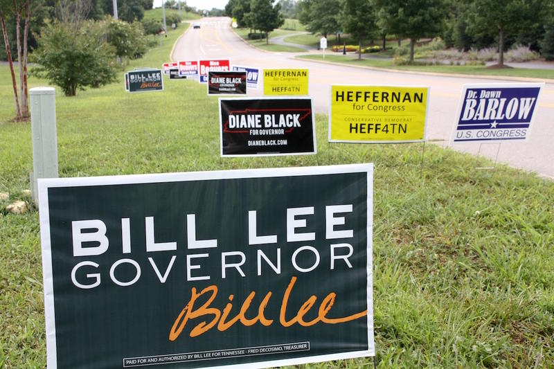 Businessman Bill Lee let his opponents duke it out in negative ads to win the GOP primary for governor.