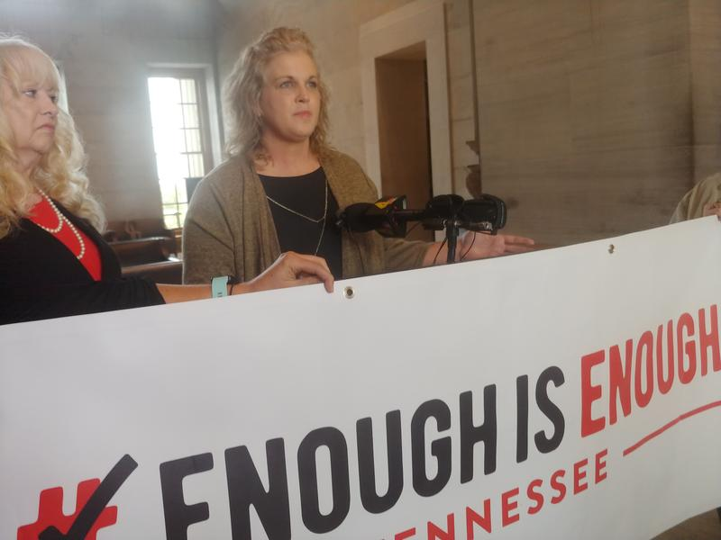 At a press conference Thursday morning, Christi Rice, one of the accusers, said she didn't come forward earlier because she feared not being believed.
