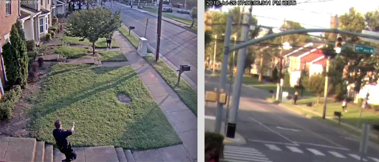 Surveillance video captured the July 26 shooting, but what happened before what the camera caught will likely be critical to the case.