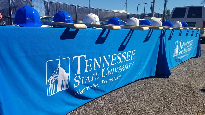Tennessee State University broke ground on four new buildings during Homecoming week alone.