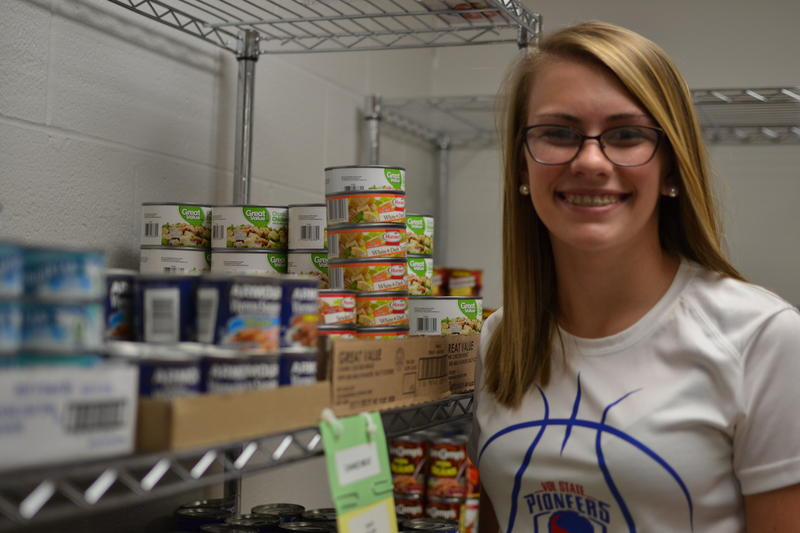 McKenzie Wallace works at The Feed at Volunteer State Community College.