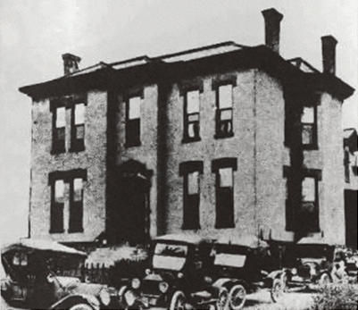 Hale Hospital started in the second floor of what was the home of John Henry and Millie Hale. It would later be expanded to the full house with 75 beds.