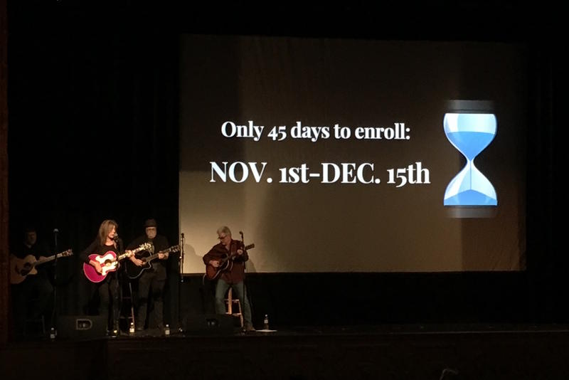 Open enrollment for the individual marketplace begins Nov. 1. This event at the Belcourt Theatre in 2017 promoted the shortened enrollment period for marketplace plans.
