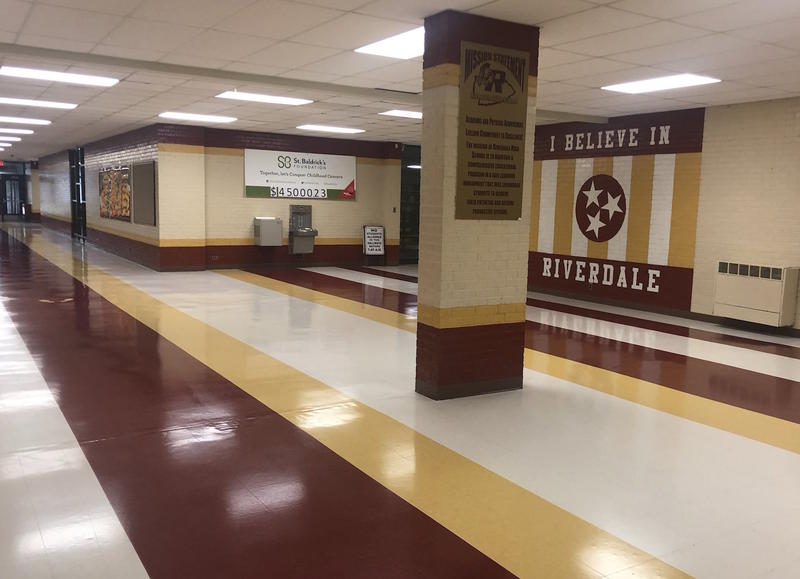 Riverdale High School has 2,100 students and has noticed more students with excused absences based on anxiety.