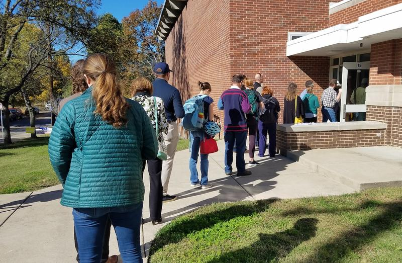 Election officials say they're seeing historically high turnout for a midterm election.