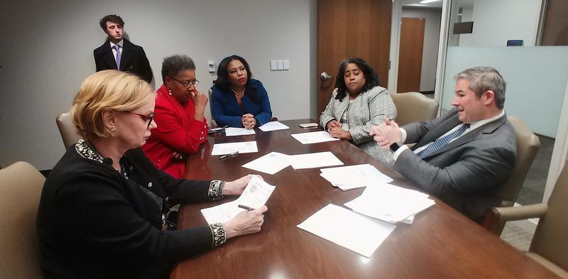 The Senate Democratic Caucus elected Tuesday Jeff Yarbro, of Nashville, as minority leader.