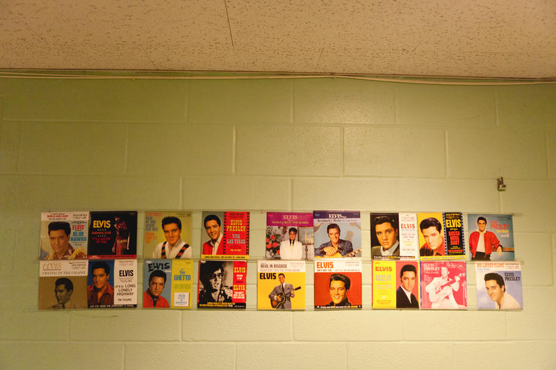 Elvis 45's. Each of these pressed and made at URP.