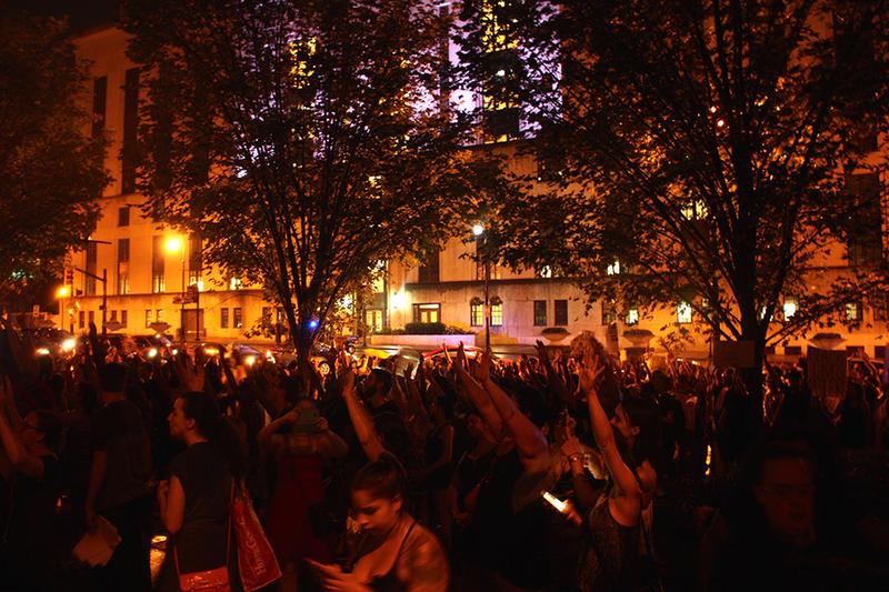Nashville Black Lives Matter vigil