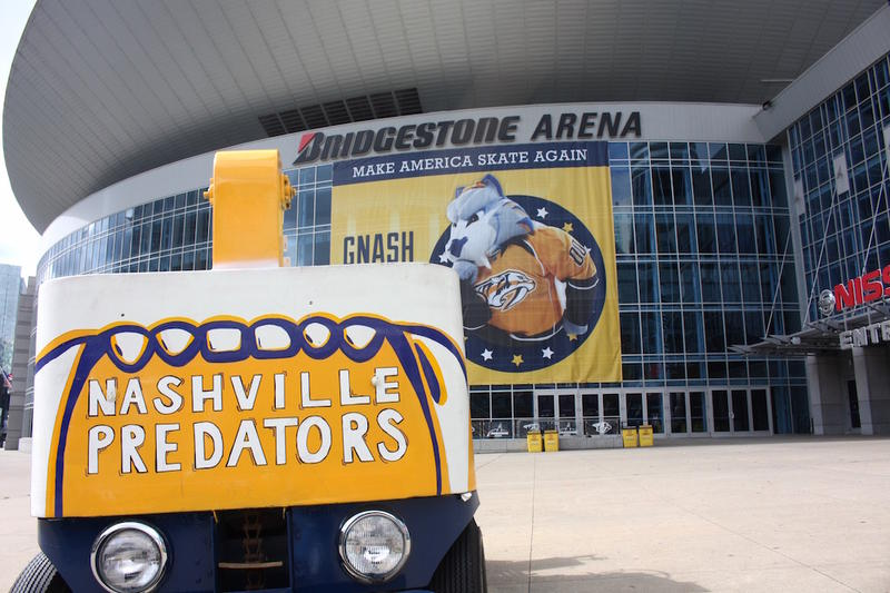 Nashville Predators Bridgestone Arena