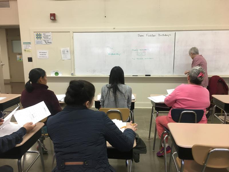 A beginner class run by the Nashville Adult Literacy Council has a roster of 15 students, but the challenges faced by immigrant learners mean that often less than half that number are in attendance.