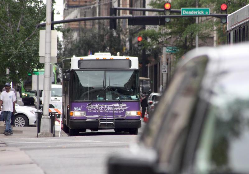 Nashville MTA bus