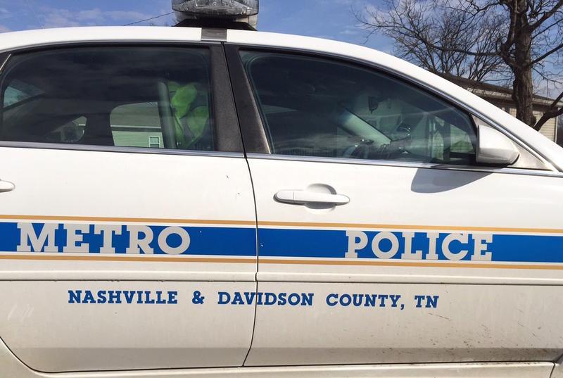 Nashville police car