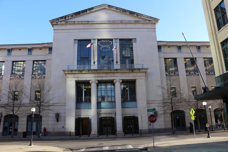 Nashville Public Library downtown