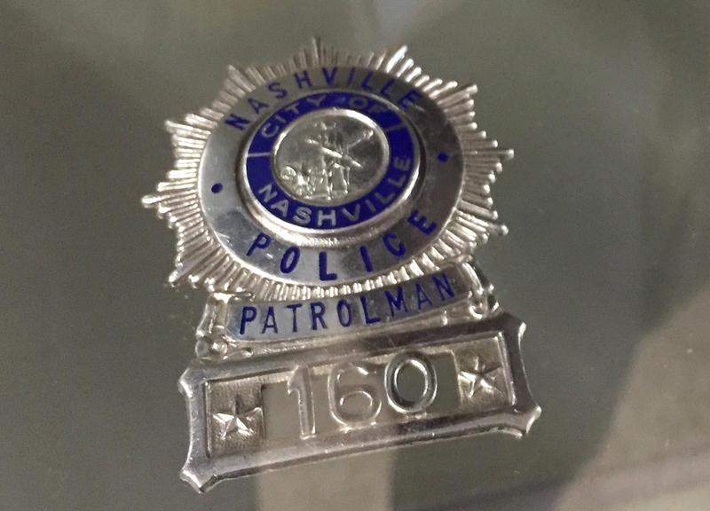 Nashville police badge