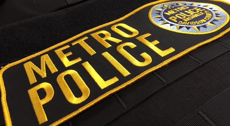 Nashville police protective vest