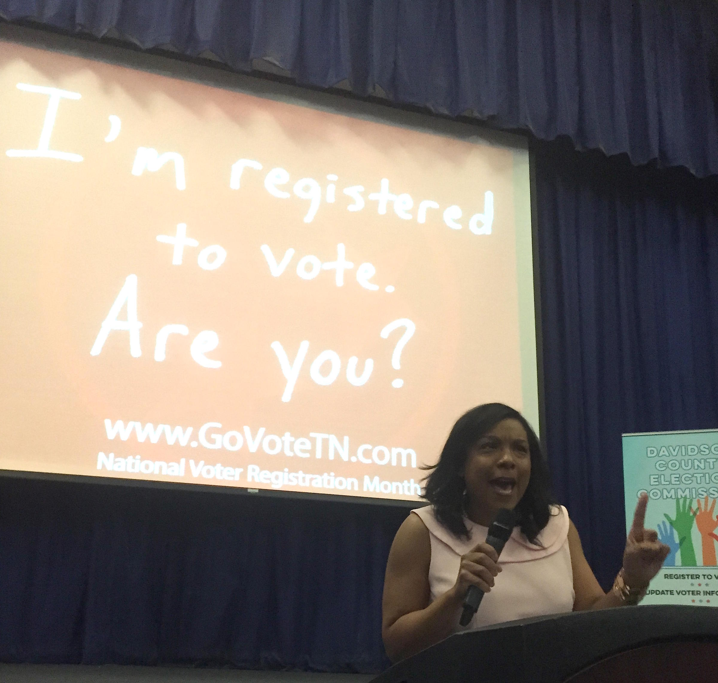 Nashville Teen Voter Registration Campaign Aims For New Record ...