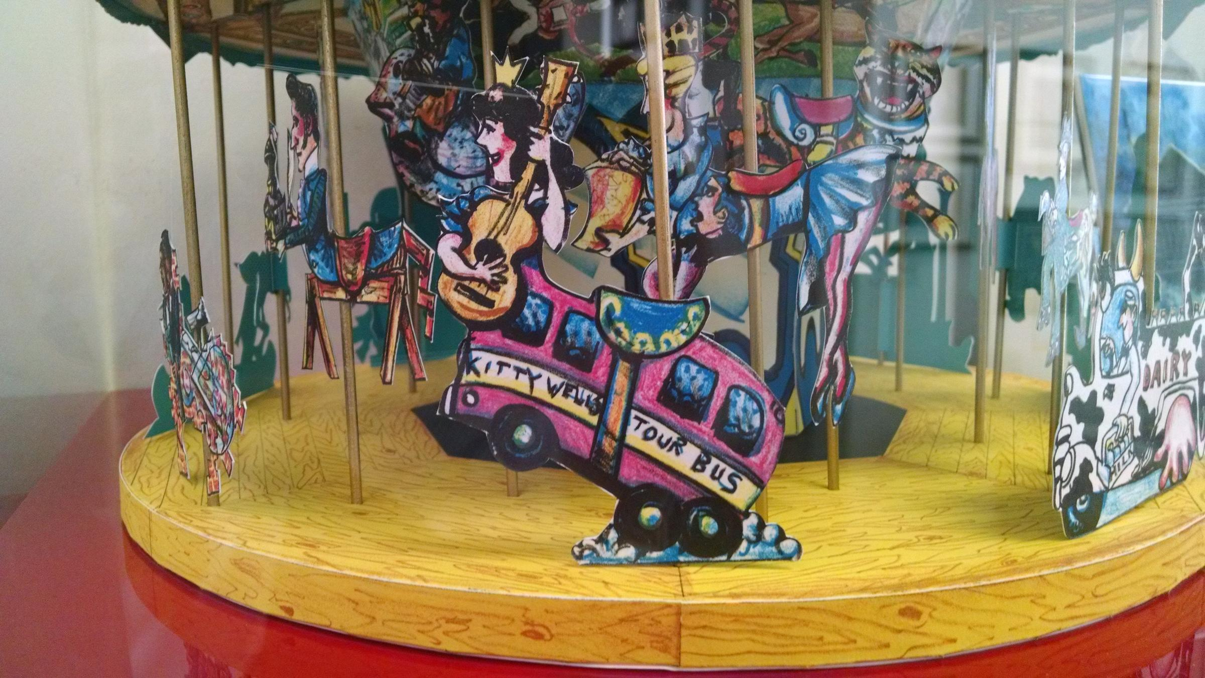 How Wells Body Would Have Appeared On The Carousel