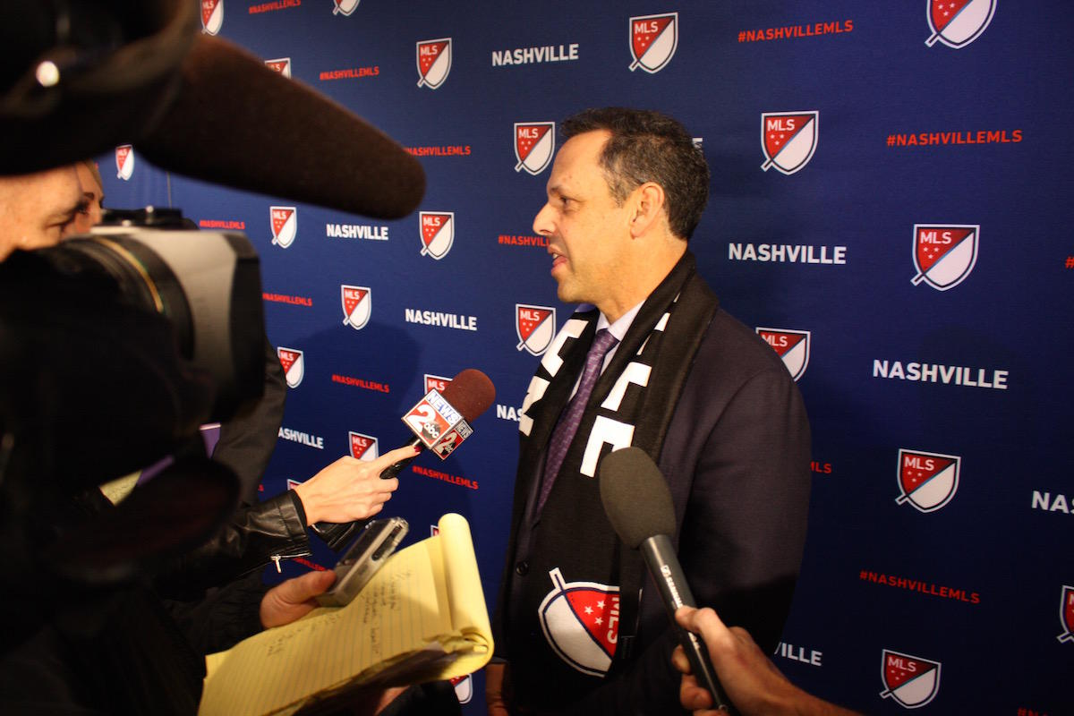 MLS adds Nashville, 1 other expansion team to come