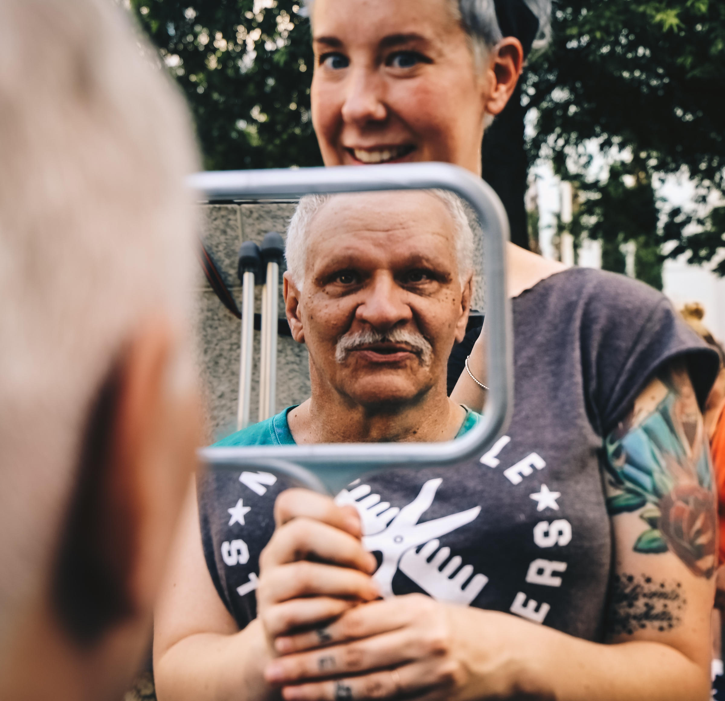 For Nashville Barbers Homeless Clients A Free Haircut Is More Than