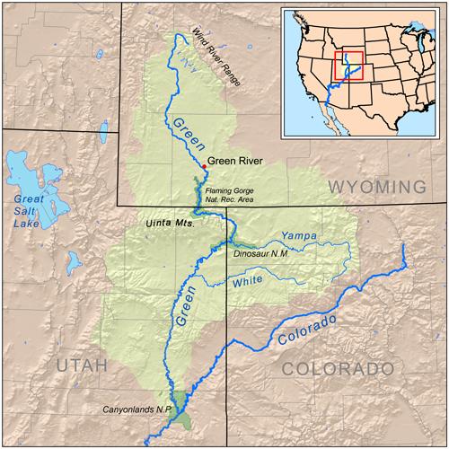 Lawmakers Move Forward Dam Project On Colorado River System - Colorado river map world atlas